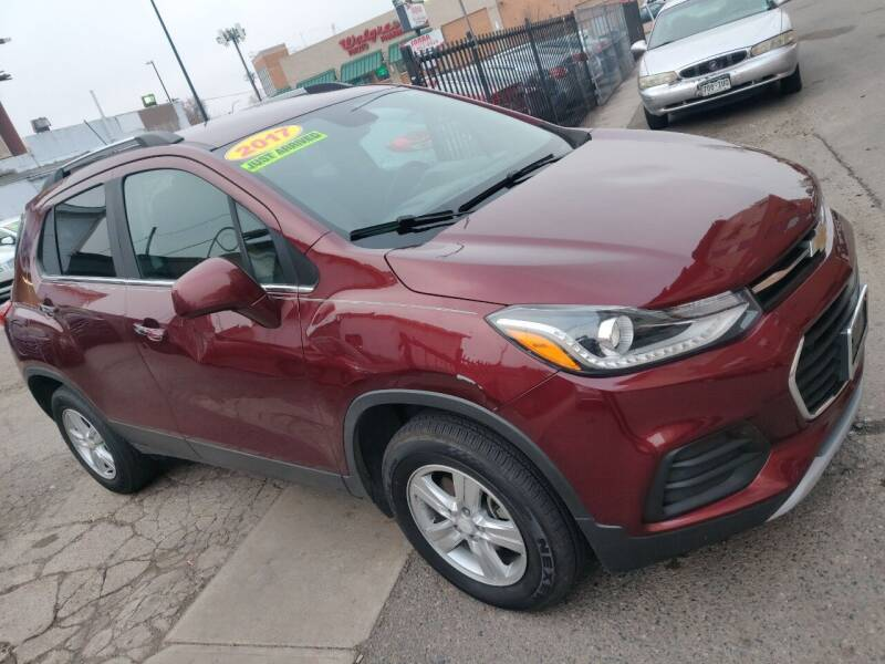 2017 Chevrolet Trax for sale at Sanaa Auto Sales LLC in Denver CO