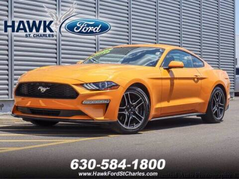 2018 Ford Mustang for sale at Hawk Ford of St. Charles in Saint Charles IL