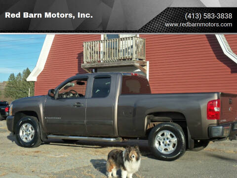 2008 Chevrolet Silverado 1500 for sale at Red Barn Motors, Inc. in Ludlow MA