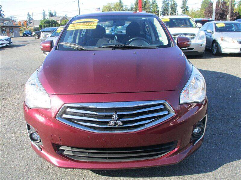 2018 Mitsubishi Mirage G4 for sale at GMA Of Everett in Everett WA
