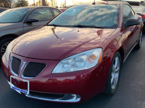 2008 Pontiac G6 for sale at American Motors Inc. - Belleville in Belleville IL