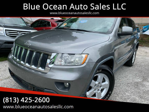 2012 Jeep Grand Cherokee for sale at Blue Ocean Auto Sales LLC in Tampa FL
