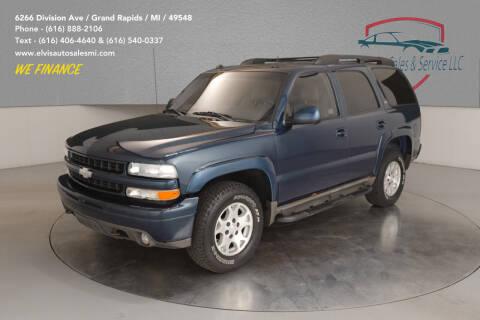 2005 Chevrolet Tahoe for sale at Elvis Auto Sales LLC in Grand Rapids MI