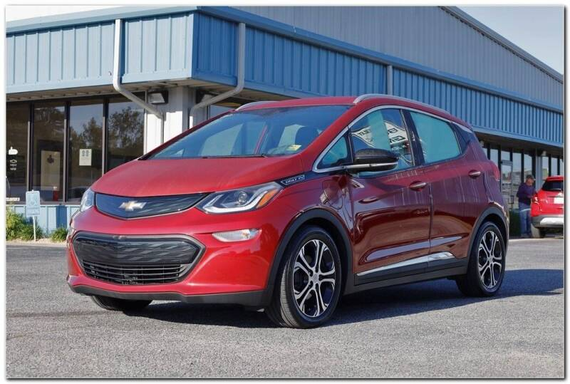 2019 Chevrolet Bolt EV for sale at STRICKLAND AUTO GROUP INC in Ahoskie NC