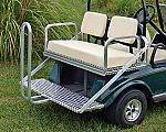 M&M Flip Rear Seat DS for sale at Jim's Golf Cars & Utility Vehicles - Accessories in Reedsville WI