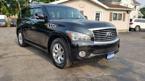 2011 Infiniti QX56 for sale at Falleti Motors, Inc.  est. 1976 in Batavia NY