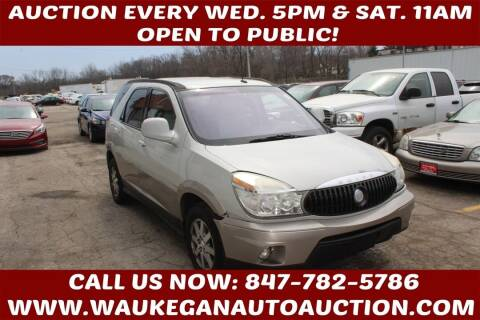 2004 Buick Rendezvous for sale at Waukegan Auto Auction in Waukegan IL