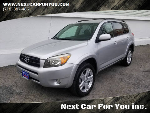 2008 Toyota RAV4 for sale at Next Car For You inc. in Brooklyn NY