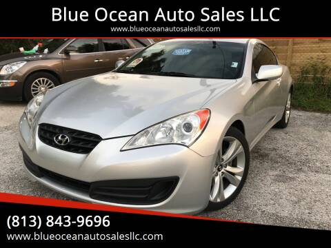 2012 Hyundai Genesis Coupe for sale at Blue Ocean Auto Sales LLC in Tampa FL