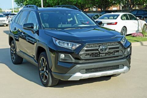 2020 Toyota RAV4 for sale at Silver Star Motorcars in Dallas TX