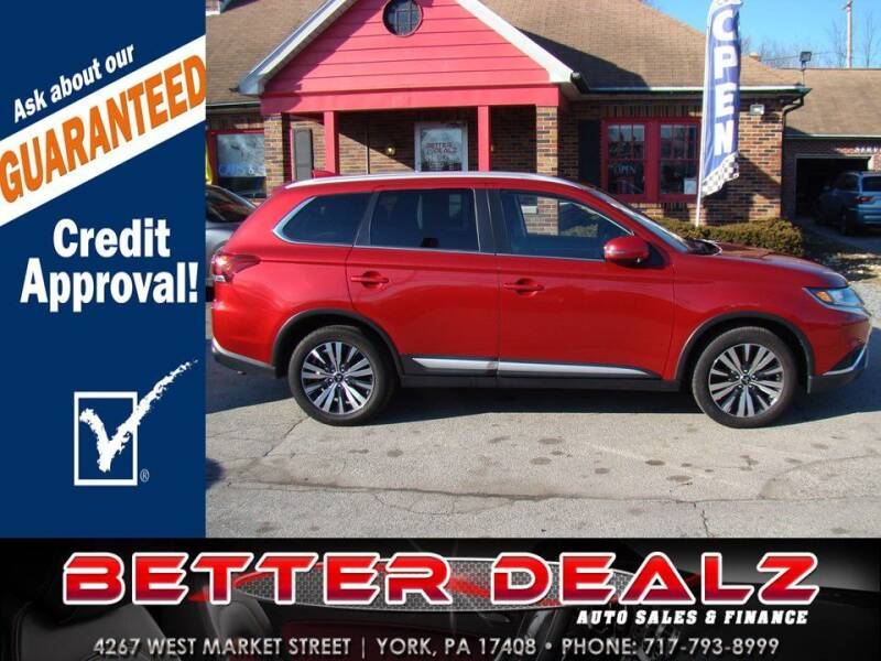 2019 Mitsubishi Outlander for sale at Better Dealz Auto Sales & Finance in York PA
