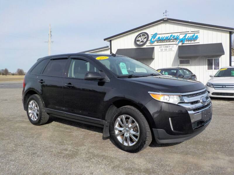 2013 Ford Edge for sale at Country Auto in Huntsville OH