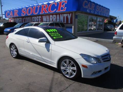 2011 Mercedes-Benz E-Class for sale at CAR SOURCE OKC in Oklahoma City OK
