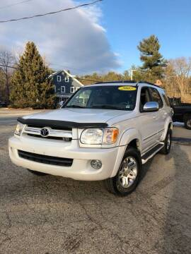 2007 Toyota Sequoia for sale at Hornes Auto Sales LLC in Epping NH