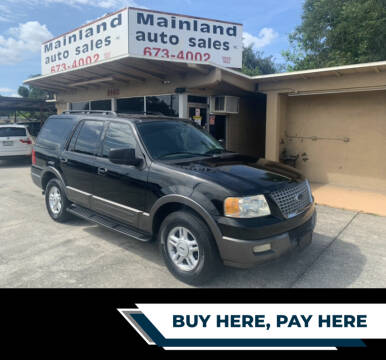 2005 Ford Expedition for sale at Mainland Auto Sales Inc in Daytona Beach FL
