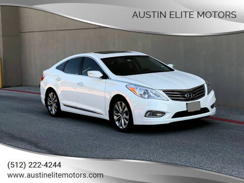 2012 Hyundai Azera for sale at Austin Elite Motors in Austin TX
