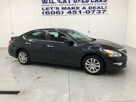2015 Nissan Altima for sale at Wildcat Used Cars in Somerset KY
