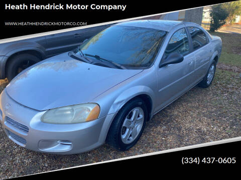 2002 Dodge Stratus for sale at Heath Hendrick Motor Company in Greenville AL