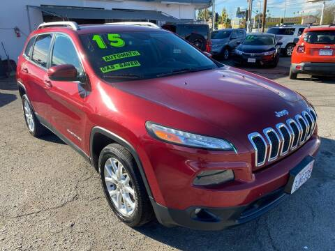 2015 Jeep Cherokee for sale at CAR GENERATION CENTER, INC. in Los Angeles CA