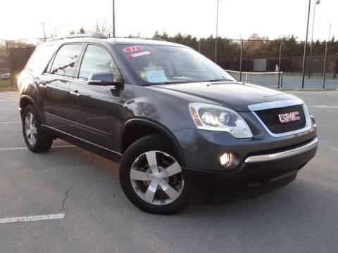 2012 GMC Acadia for sale at KC Car Gallery in Kansas City KS