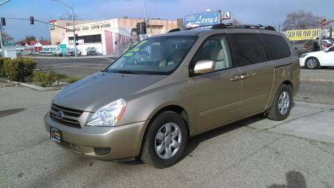 2007 Kia Sedona for sale at Larry's Auto Sales Inc. in Fresno CA