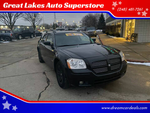 2007 Dodge Magnum for sale at Great Lakes Auto Superstore in Pontiac MI