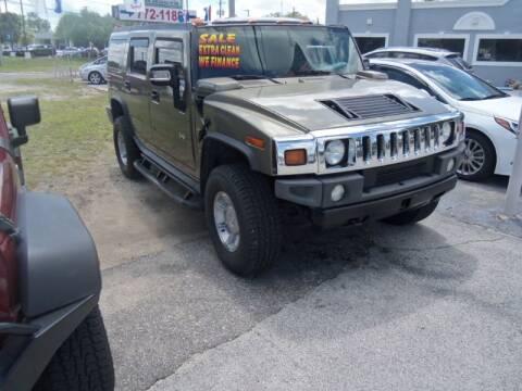 2006 HUMMER H2 for sale at ORANGE PARK AUTO in Jacksonville FL