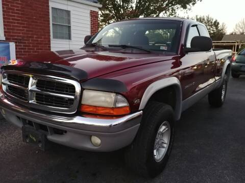 2000 Dodge Dakota for sale at Regional Auto Sales in Madison Heights VA