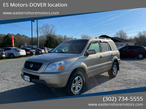2005 Honda Pilot for sale at ES Motors-DAGSBORO location - Dover in Dover DE