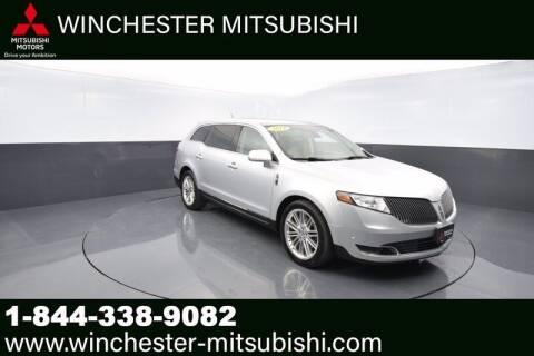 2014 Lincoln MKT for sale at Winchester Mitsubishi in Winchester VA