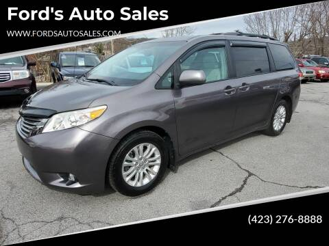 2012 Toyota Sienna for sale at Ford's Auto Sales in Kingsport TN