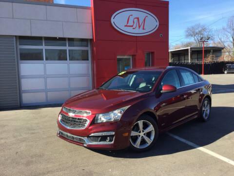 2015 Chevrolet Cruze for sale at Legend Motors of Detroit in Detroit MI