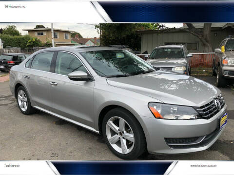 2012 Volkswagen Passat for sale at EKE Motorsports Inc. in El Cerrito CA