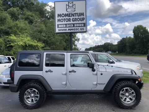 2013 Jeep Wrangler Unlimited for sale at Momentum Motor Group in Lancaster SC