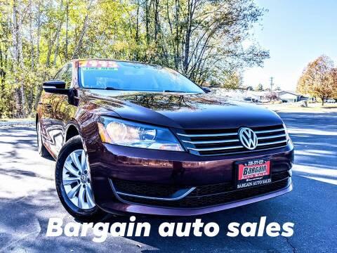 2014 Volkswagen Passat for sale at Bargain Auto Sales LLC in Garden City ID