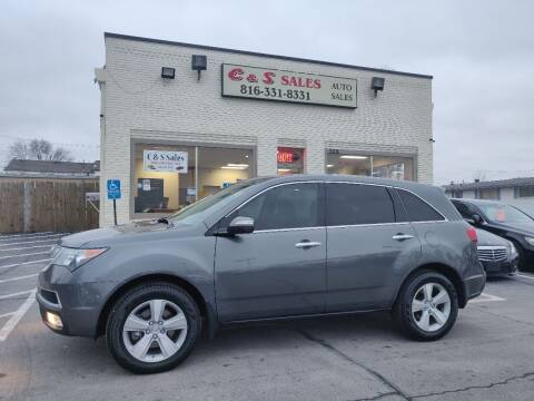 2010 Acura MDX for sale at C & S SALES in Belton MO