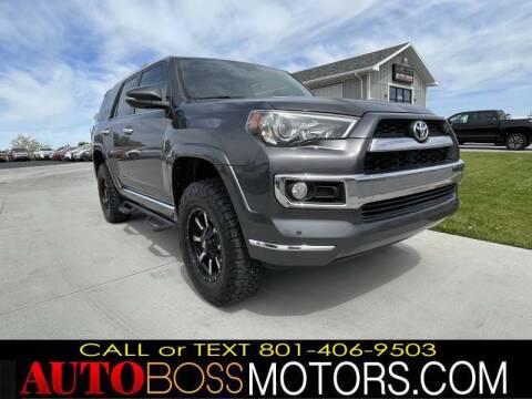 2014 Toyota 4Runner for sale at Auto Boss in Woods Cross UT