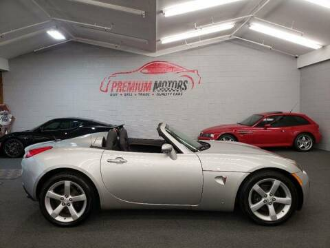 2007 Pontiac Solstice for sale at Premium Motors in Villa Park IL