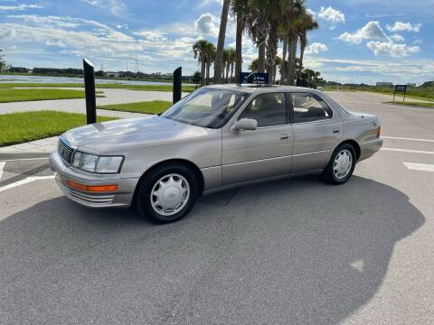 1993 Lexus LS 400 for sale at Unique Sport and Imports in Sarasota FL