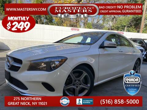 2018 Mercedes-Benz CLA for sale at European Masters in Great Neck NY