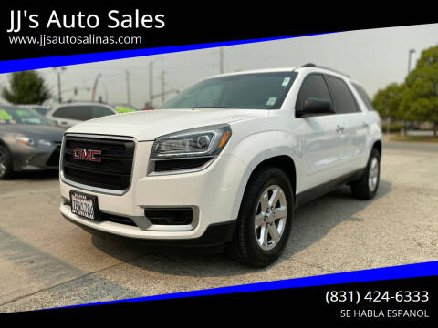 2016 GMC Acadia for sale at JJ's Auto Sales in Salinas CA