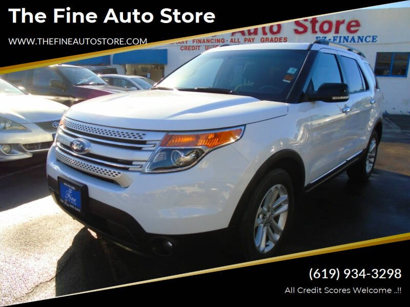 2015 Ford Explorer for sale at The Fine Auto Store in Imperial Beach CA