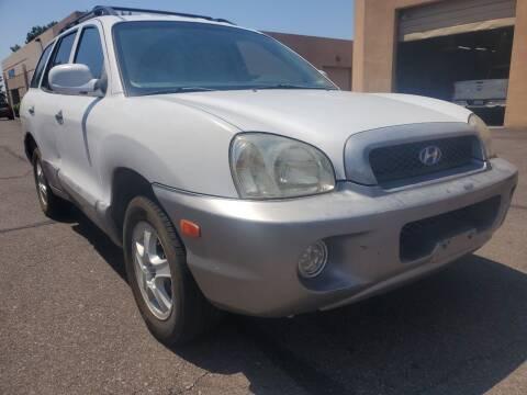 2002 Hyundai Santa Fe for sale at Arizona Auto Resource in Tempe AZ