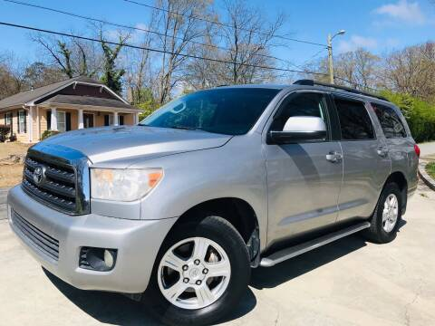 2008 Toyota Sequoia for sale at Cobb Luxury Cars in Marietta GA