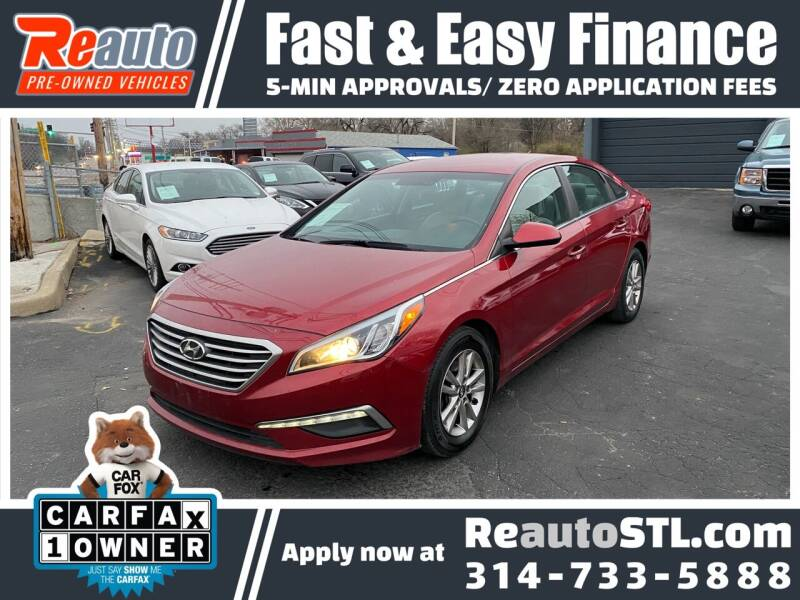 2015 Hyundai Sonata for sale at Reauto in Saint Louis MO