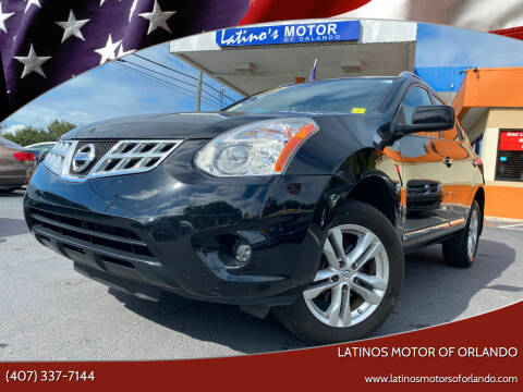 2013 Nissan Rogue for sale at LATINOS MOTOR OF ORLANDO in Orlando FL