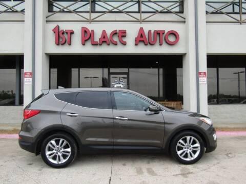 2013 Hyundai Santa Fe Sport for sale at First Place Auto Ctr Inc in Watauga TX