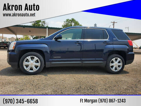 2017 GMC Terrain for sale at Akron Auto in Akron CO