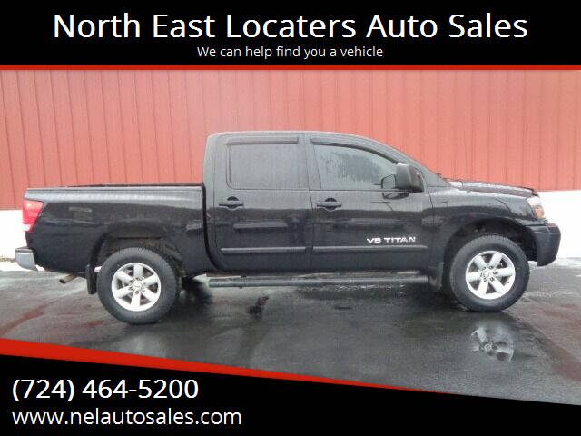 2011 Nissan Titan for sale at North East Locaters Auto Sales in Indiana PA