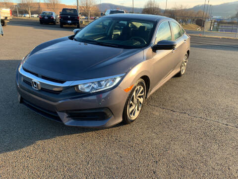 2018 Honda Civic for sale at Steve Johnson Auto World in West Jefferson NC